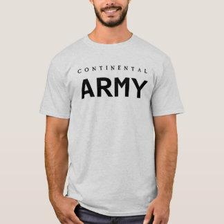 Ejército continental camiseta