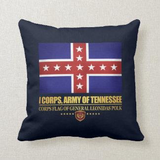 Ejército de Tennesse (Polk) Cojín Decorativo