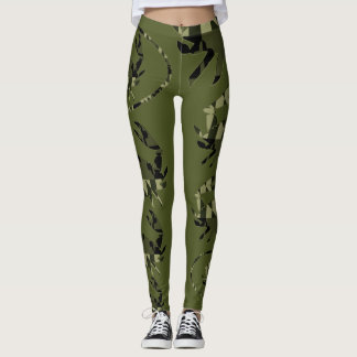 Ejército del cangrejo del MD Leggings