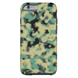 Ejército del caso del iPhone de Pixelated Funda Resistente iPhone 6