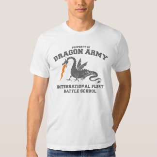 ejército del dragón del ender camiseta