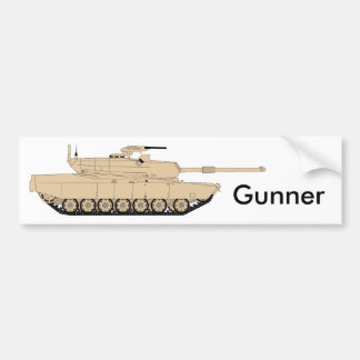 Ejército del EE. UU. M1A1 Abrams Pegatina Para Coche