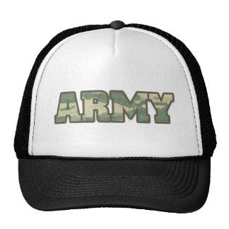 Ejército en camo gorra