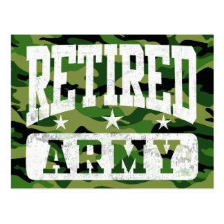 Ejército jubilado postal