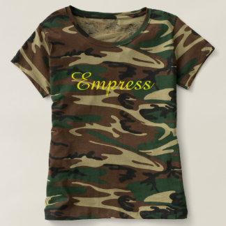 Ejército para mujer de la camiseta (emperatriz),