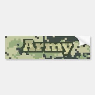 Ejército Pegatina Para Coche