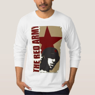 Ejército rojo camiseta