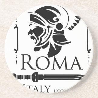 Ejército romano - legionario con Gladio Posavasos De Arenisca