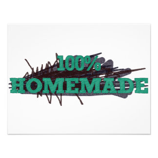 El 100 hecho en casa comunicado personalizado