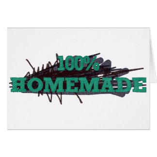 El 100 hecho en casa tarjetas