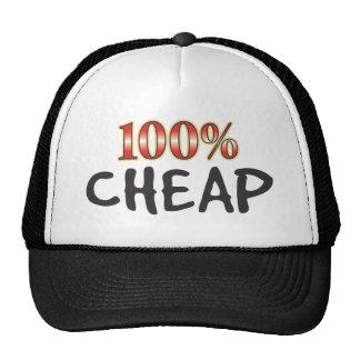 El 100 por ciento barato gorros bordados