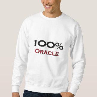 El 100 por ciento Oracle Sudadera