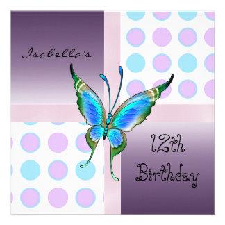 el 12mo décimotercero cumpleaños mancha el azul de anuncio