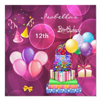 el 12mo décimotercero rosa de la fiesta de