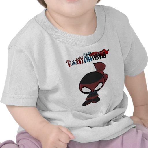 El 1r engranaje de ToonyfatNinja Camisetas
