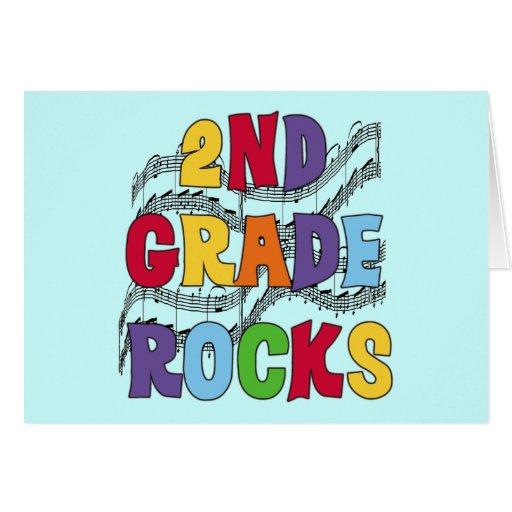 El 2do grado multicolor oscila las camisetas y los felicitaciones