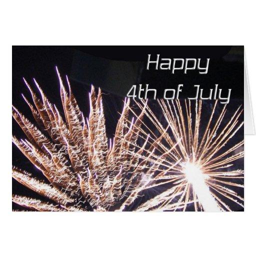 el 4 de julio felicitación