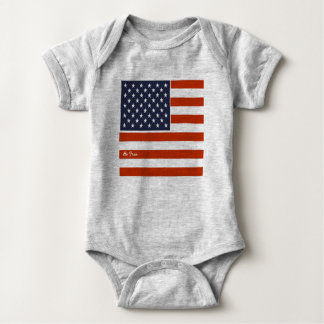 """el 4to de la bandera americana de julio """"sea"""" mono body para bebé"""