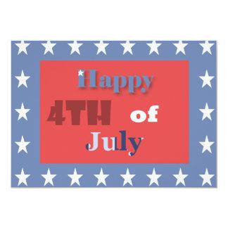 el 4tos del fiesta de julio invitan anuncios personalizados