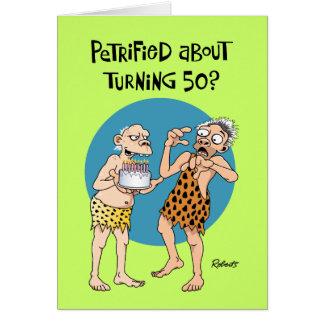 El 50.o cumpleaños del hijo felicitacion