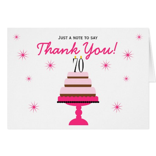 El 70.o cumpleaños de la torta con gradas rosada l