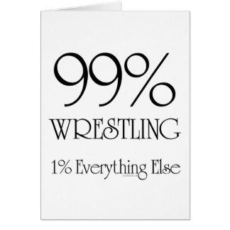 El 99% que lucha tarjeton