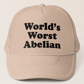El abeliano peor del mundo gorra de camionero