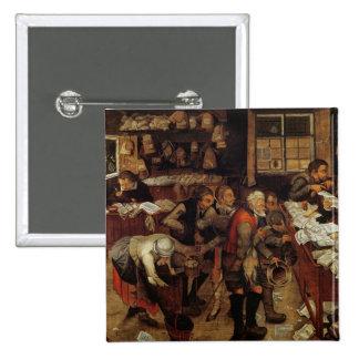 El abogado del pueblo, 1621 chapa cuadrada 5 cm
