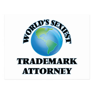 El abogado más atractivo de la marca registrada tarjeta postal