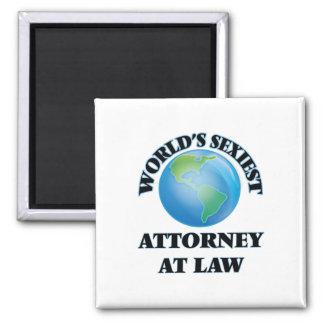 El abogado más atractivo en la ley del mundo imán de frigorifico