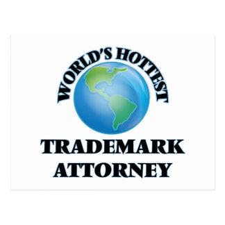 El abogado más caliente de la marca registrada del postales