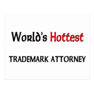 El abogado más caliente de la marca registrada del postal