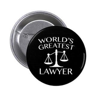 El abogado más grande del mundo chapa redonda 5 cm