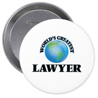 El abogado más grande del mundo pin