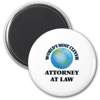 El abogado más listo en la ley del mundo imán de frigorifico