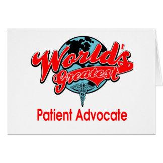 El abogado paciente más grande del mundo felicitacion