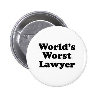 El abogado peor del mundo pins