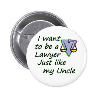 El abogado tiene gusto del tío chapa redonda 5 cm