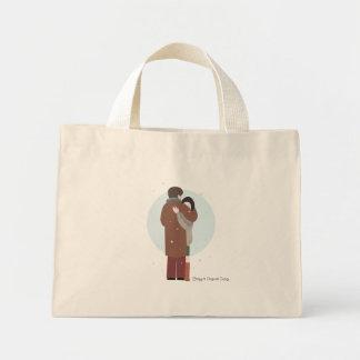 El abrazo de Violetta - bolso Bolsa Tela Pequeña