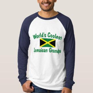 El abuelo jamaicano más fresco camisetas