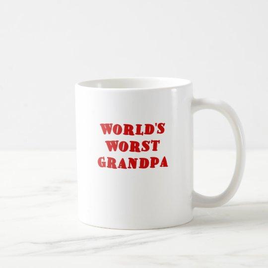 El abuelo peor de los mundos taza de café