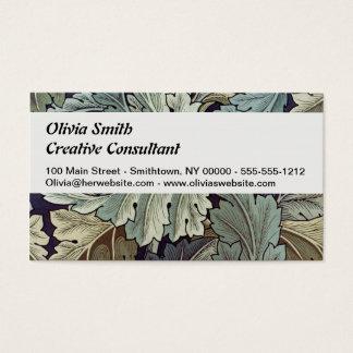 El Acanthus de William Morris sale de tarjetas de