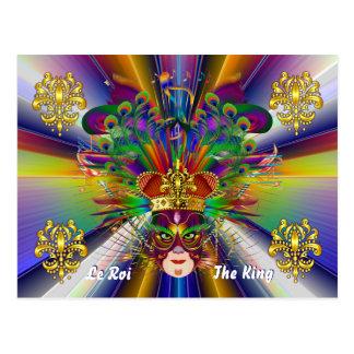 El acontecimiento del carnaval del carnaval ve por postal