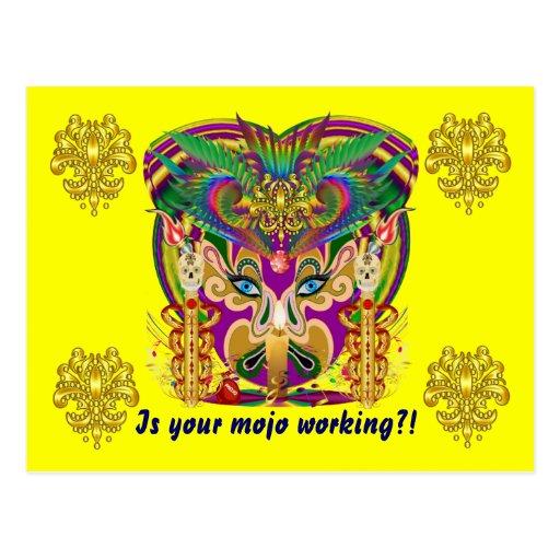 El acontecimiento del carnaval del carnaval ve por tarjeta postal