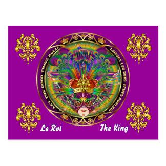 El acontecimiento del carnaval del carnaval ve por tarjetas postales