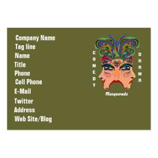 El acontecimiento del carnaval del carnaval ve por plantilla de tarjeta personal