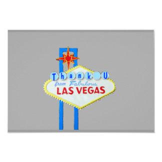 El acontecimiento especial de Las Vegas le Invitación 8,9 X 12,7 Cm