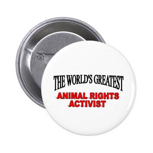 El activista más grande de los derechos de los ani pins