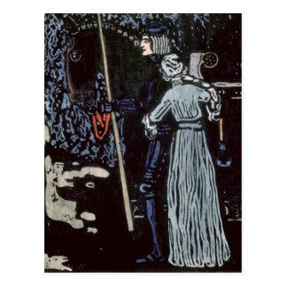 El adiós, 1903 postal