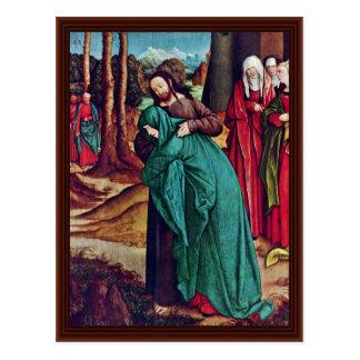 El adiós de Cristo a Maria de Strigel Bernhard Postal